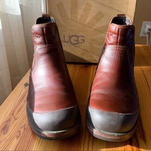 UGG Matteson Chestnut Brown Winter Boots